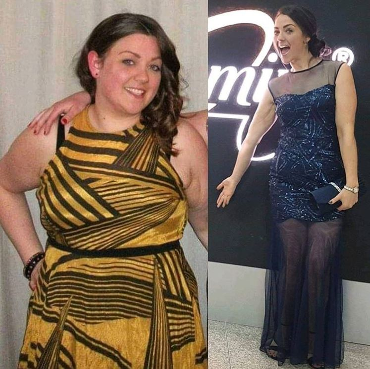 Amy Slimming World ball transformation photo-Our 2019 'that Slimming World feeling' moments-Slimming World blog