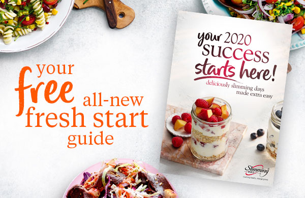 Your 2020 success starts here book-Your Free Fresh Start Guide for 2020-Slimming World blog