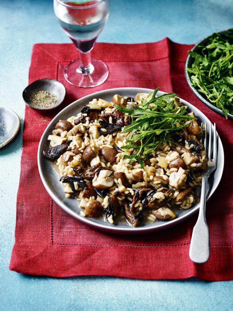 slow cooker mushroom risotto-slimming world slow cooker recipes-Slimming World blog
