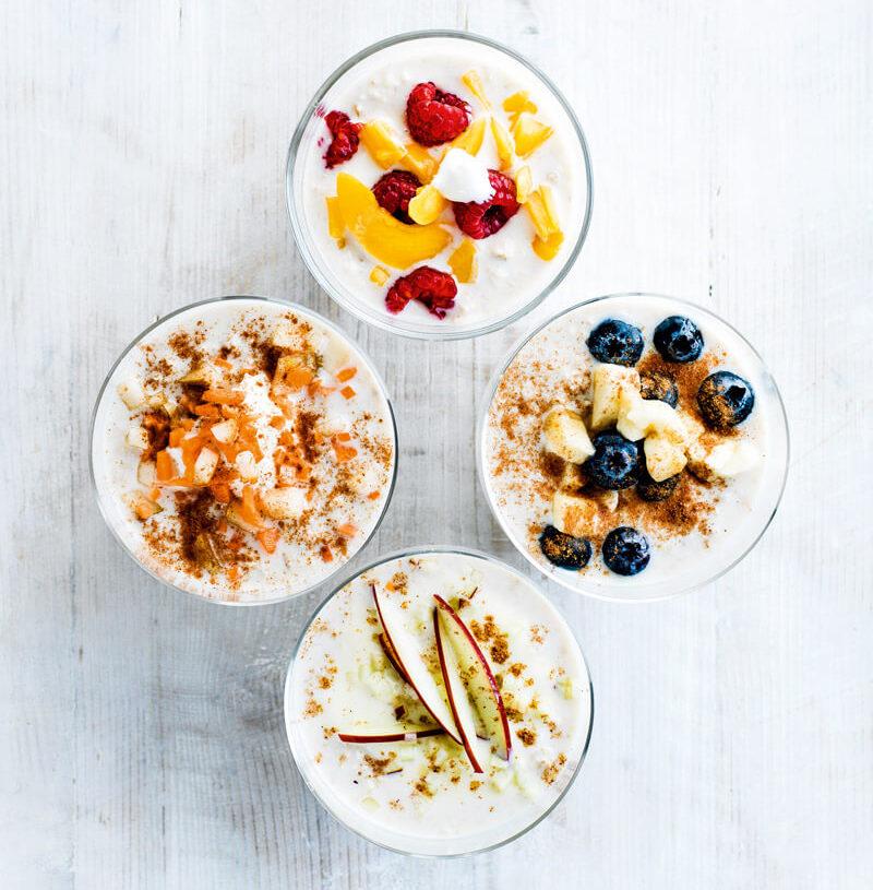 Overnight oats-Dec shopping list-Slimming World blog
