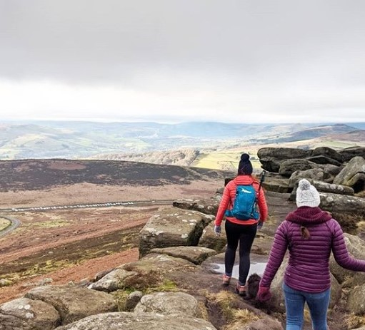 Ashleigh Peak District walk-Ashleigh's diary part 4-Slimming World blog