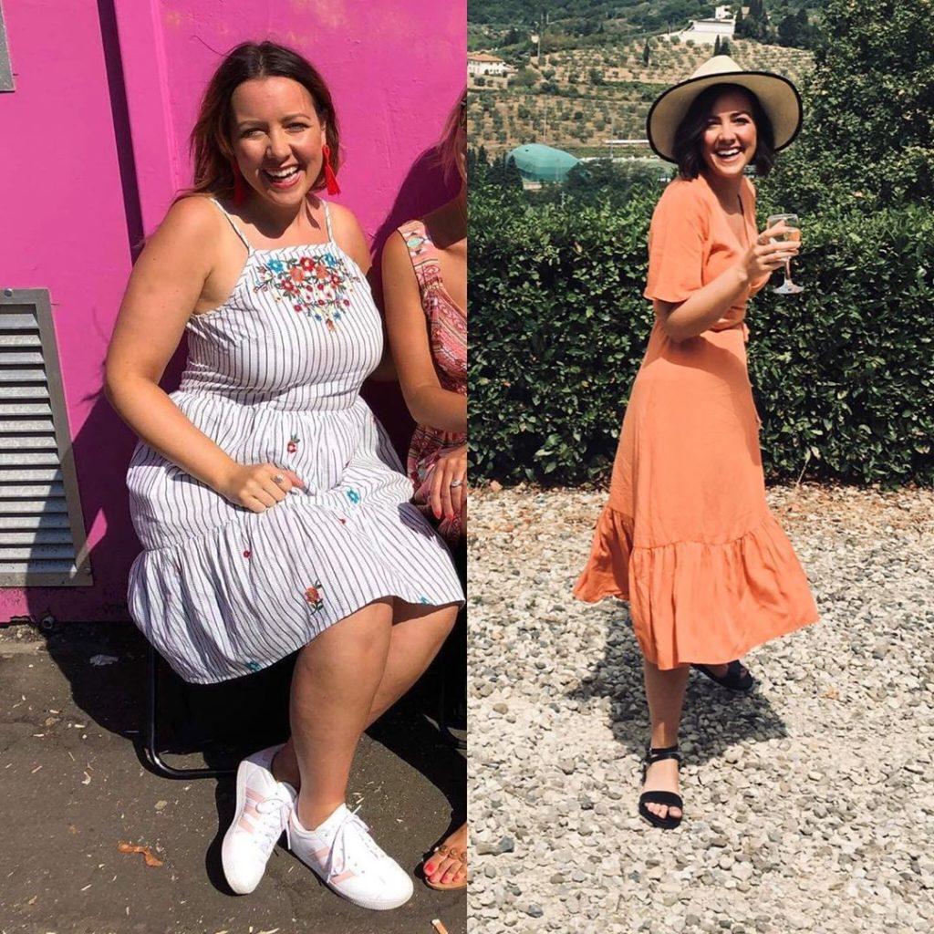 Slimming World member holiday transformation - Sunshine Saturday - Slimming World blog