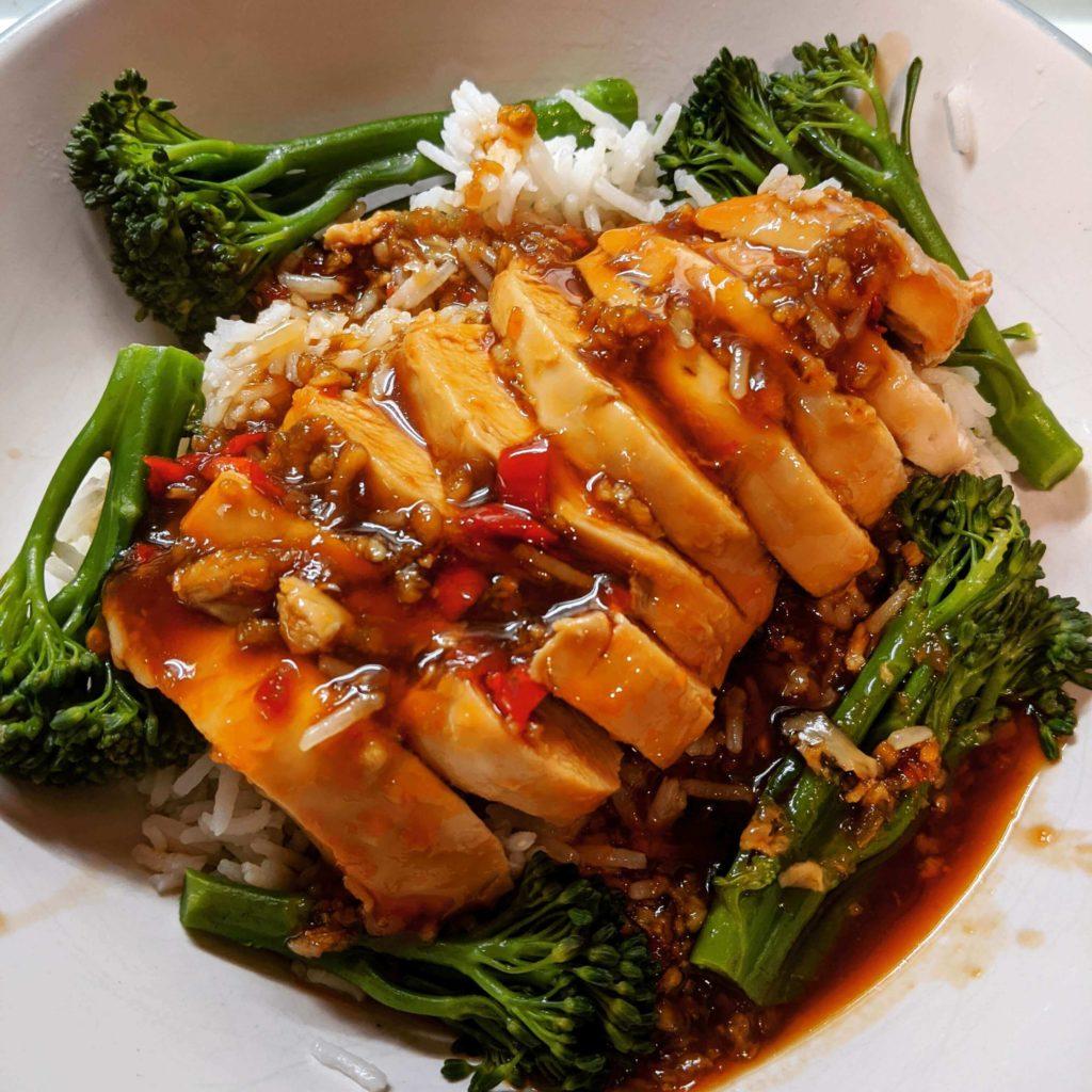 Ellie sweet chilli chicken-Get that Slimming World feeling from food-Slimming World blog