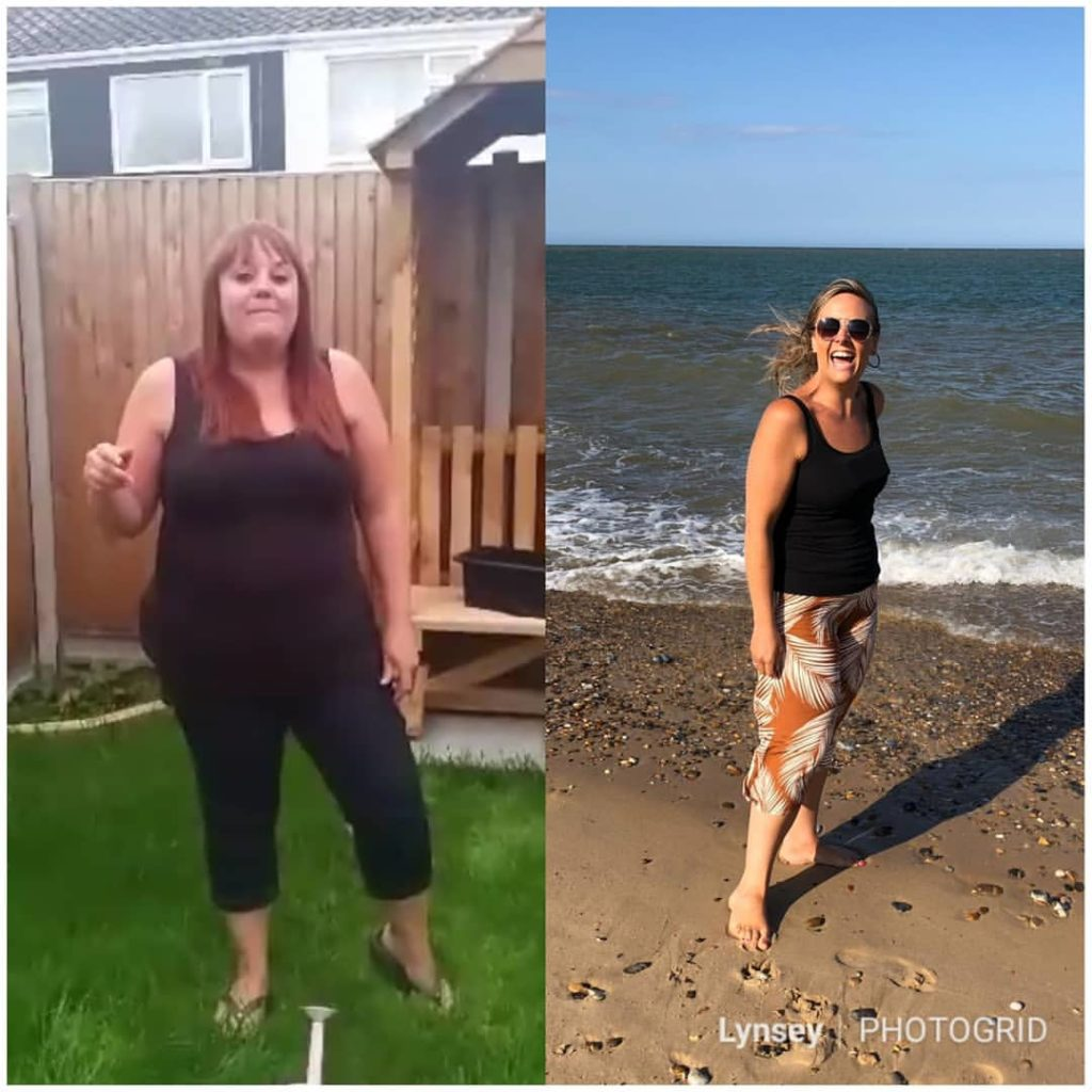 Lynsey holiday transformation - Sunshine Saturday - Slimming World World blog