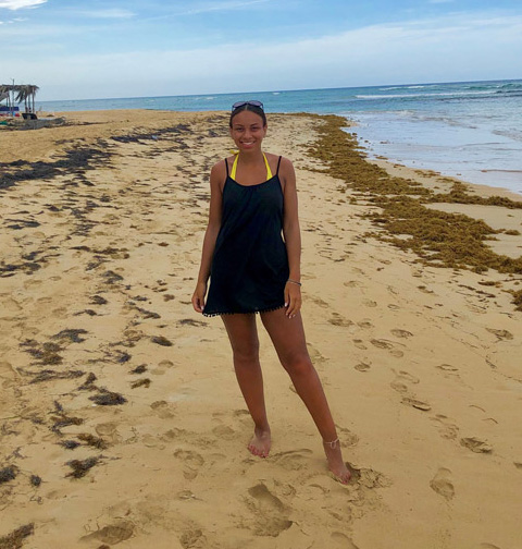 Olivia Gibbs on holiday - Slimming World blog