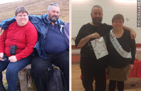 Viv Steadman before and after - Slimming World blog