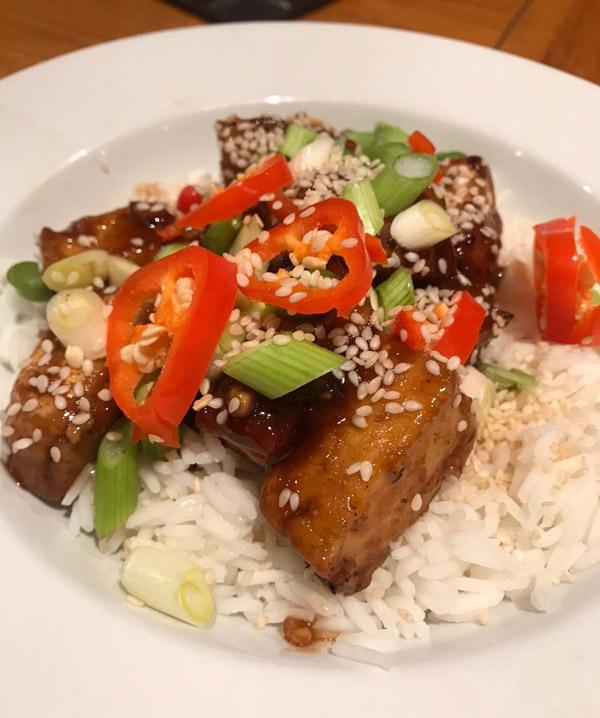 Teriyaki tofu - Chinese New Year - Slimming World Blog
