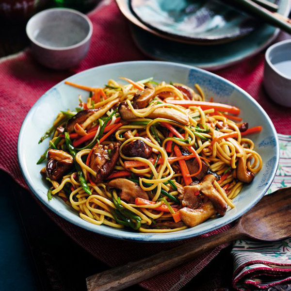 Vegetable chow mein - Chinese New Year - Slimming World Blog