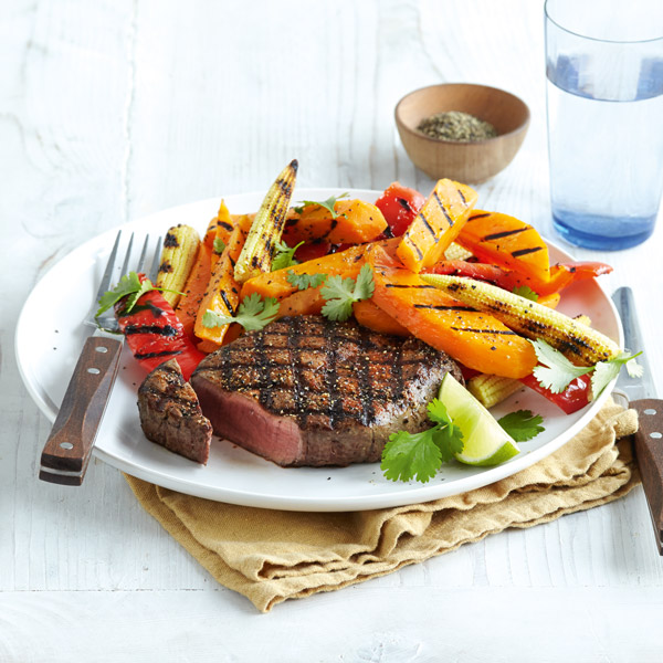 Chipotle steak and sweet potato fries - Valentine's Day menu - Slimming World Blog