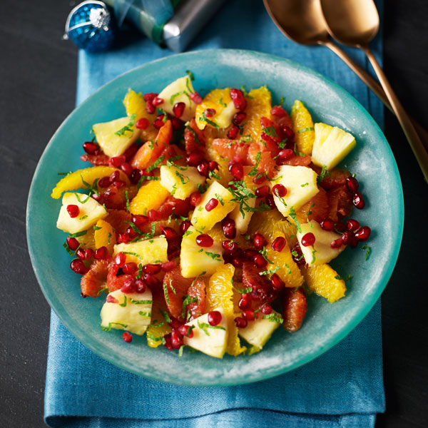 Jewelled fruit salad - Valentine's Day menu - Slimming World Blog
