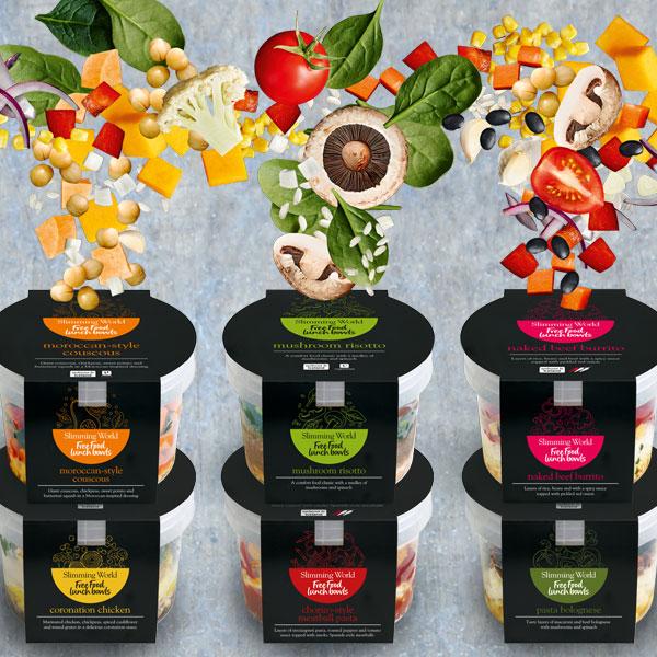 Lunch bowls - Happy Birthday Food Range - Slimming World Blog