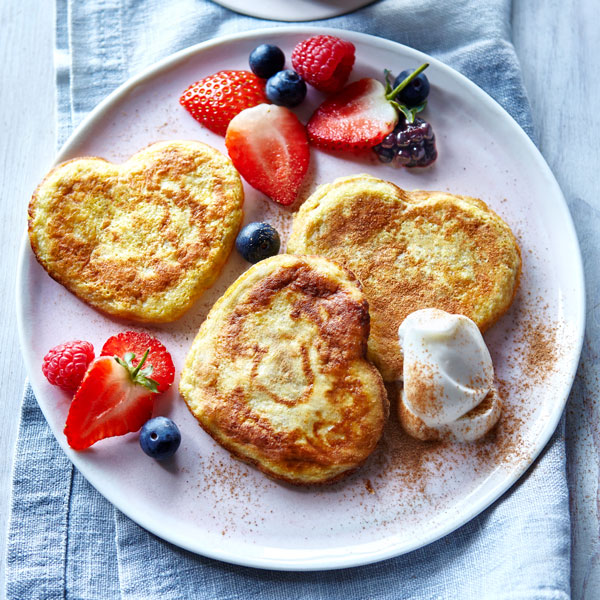 Pancakes with mixed berries - Pancakes - Slimming World Blog