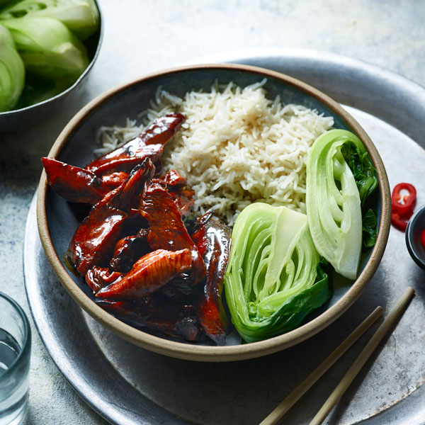 Sticky chicken - Valentine's Day menu - Slimming World Blog
