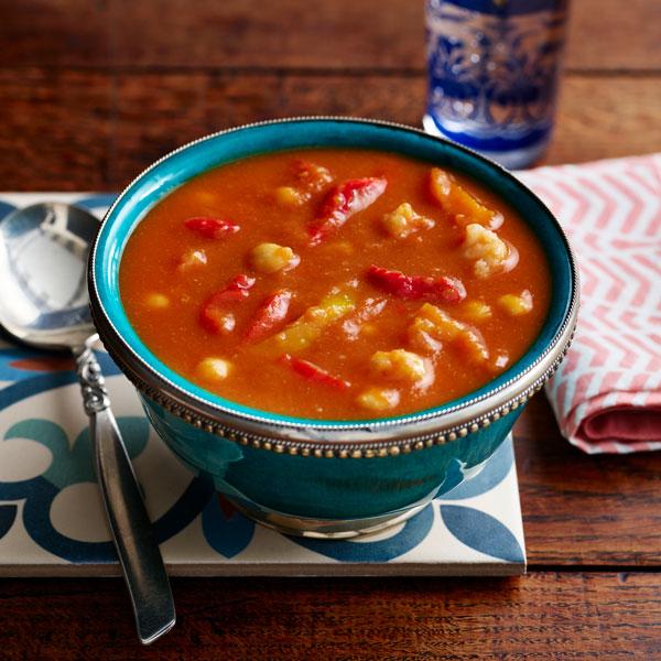 Vegetable tagine soup - Valentine's Day menu - Slimming World Blog