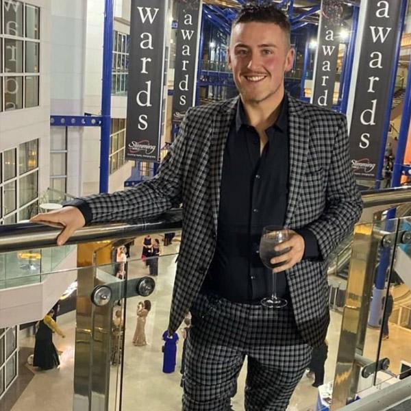 Aaron Snares at the Slimming World Awards - Success story - Slimming World Blog