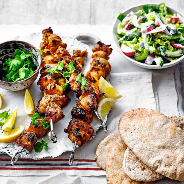 Chicken tikka kebabs - Mother's Day - Slimming World Blog