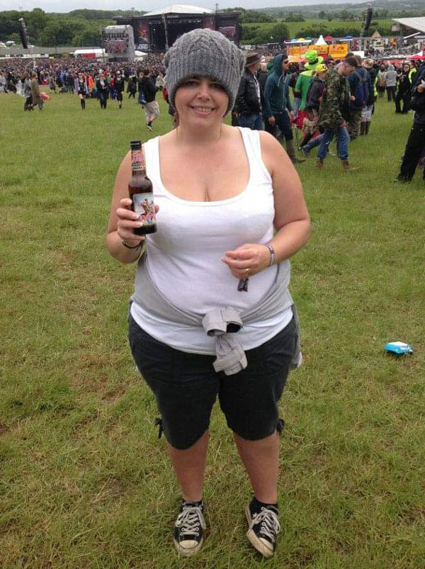 Donna Howarth before - Success story - Slimming World Blog