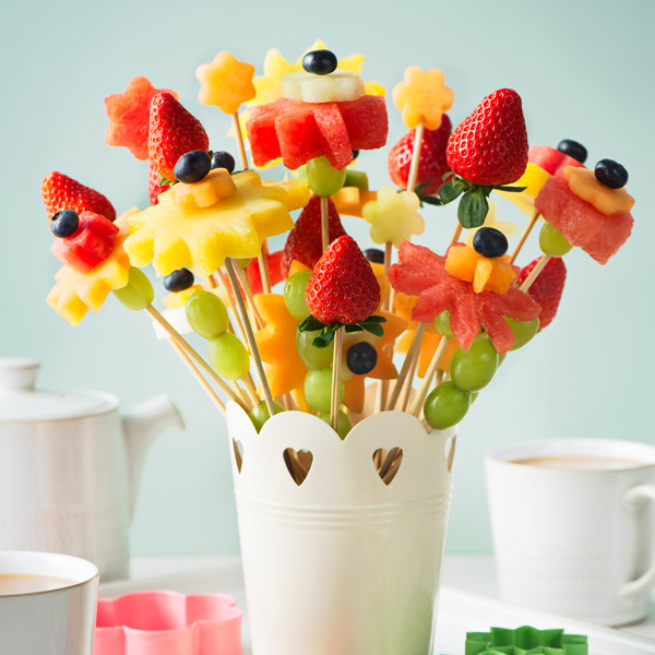 Fruit flowers - Mother's Day - Slimming World Blog