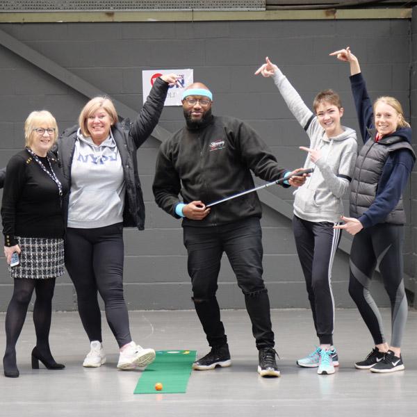 Golf - Sport Relief 2020 - Slimming World Blog