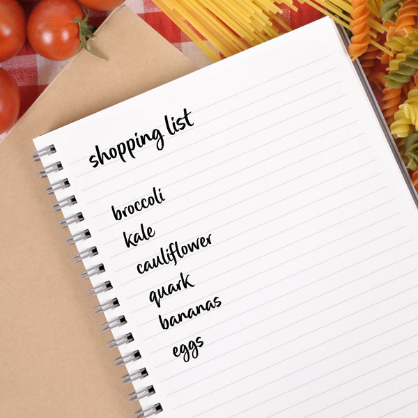 Seasonal shopping list - Slimming World Blog