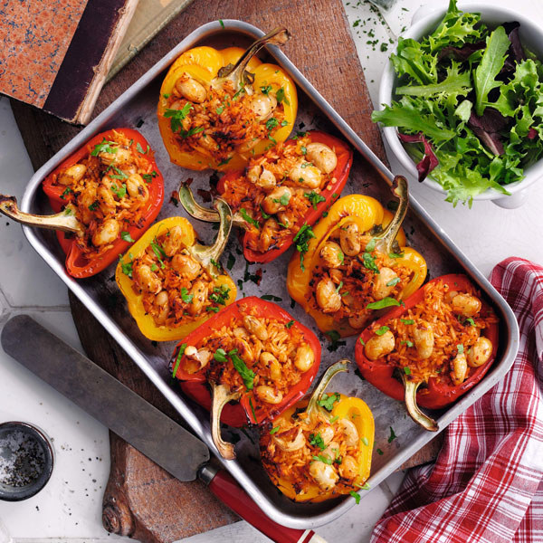 Stuffed peppers - Mother's Day - Slimming World Blog