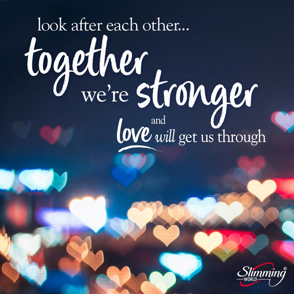 Together we are stronger image - Slimming World Blog