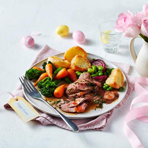 SliEaster leg of lamb-easy Easter menu-Slimming World blog