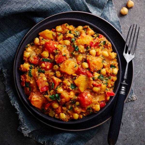 Vegetable dhansak - chickpea recipes - Slimming World Blog