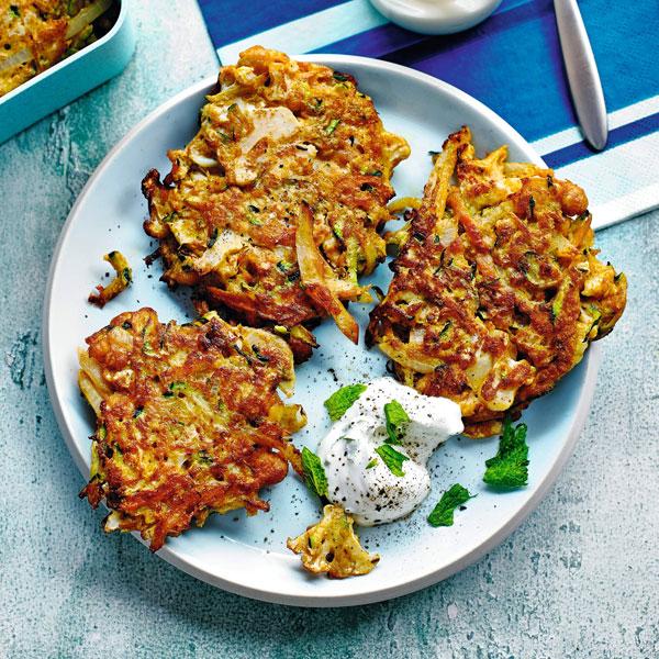Veggie pakoras - chickpea recipes - Slimming World Blog