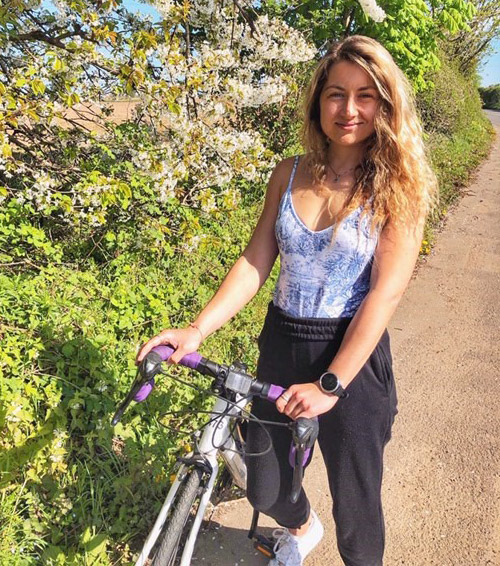 amy-bike-ride-working-from-home-slimming-world-blog