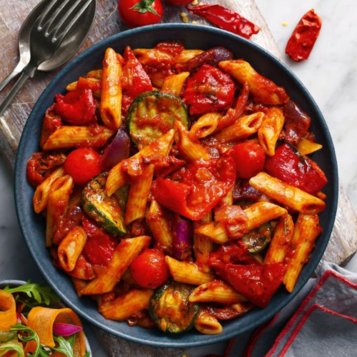Slimming World penne arrabiatta-Slimming World vegetarian recipes-Slimming World blog