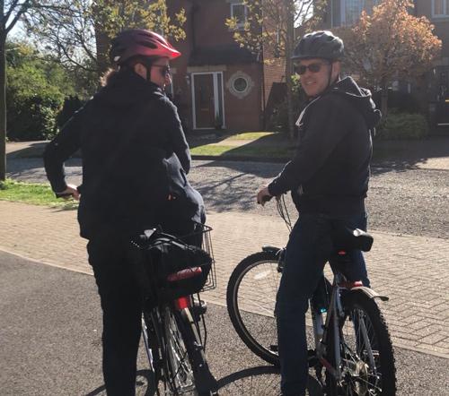 Katie and Tony Viney - Bike riding - Success story - Slimming World Blog