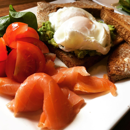 Salmon and poached egg - Katie and Tony Viney - Success story - Slimming World Blog