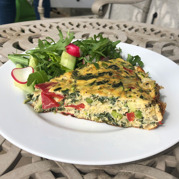Sal's anything goes frittata - Slimming World Blog