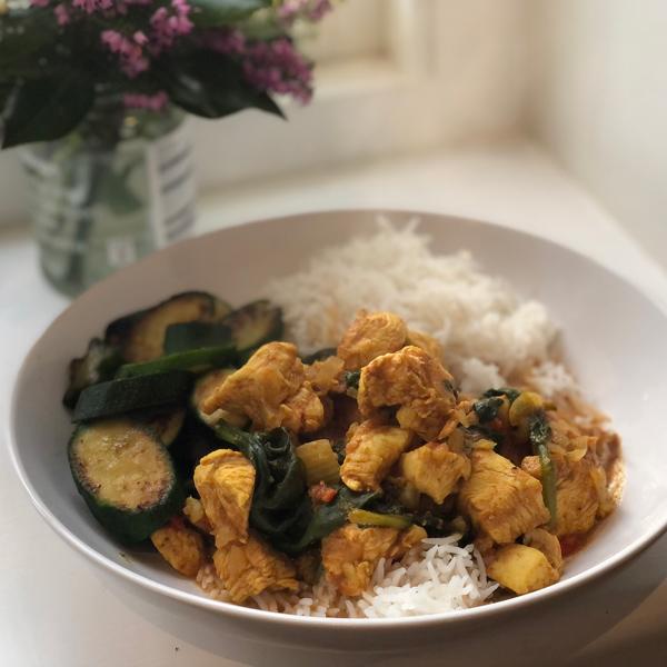Sal's chicken curry recipe - Slimming World Blog