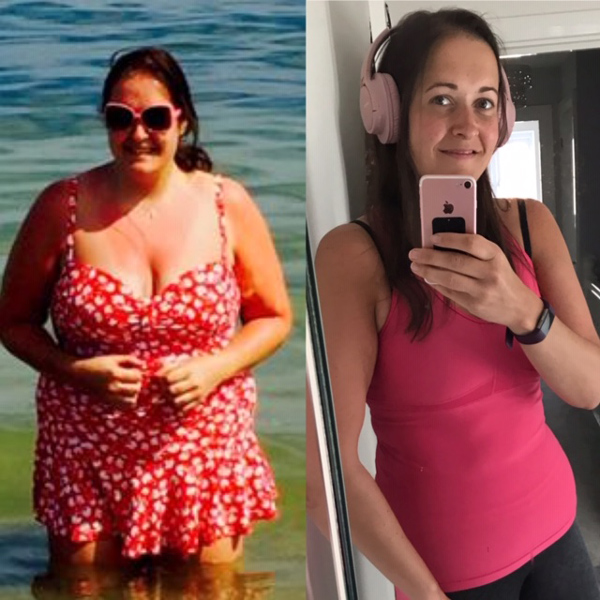 Natalie before and after - Success story - Slimming World Blog