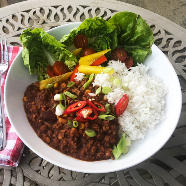 Sal's chilli con carne - Slimming World Blog