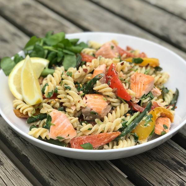 Sal's zesty salmon pasta - Slimming World Blog