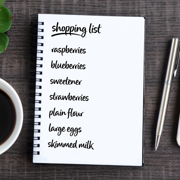 July shopping list - Slimming World Blog