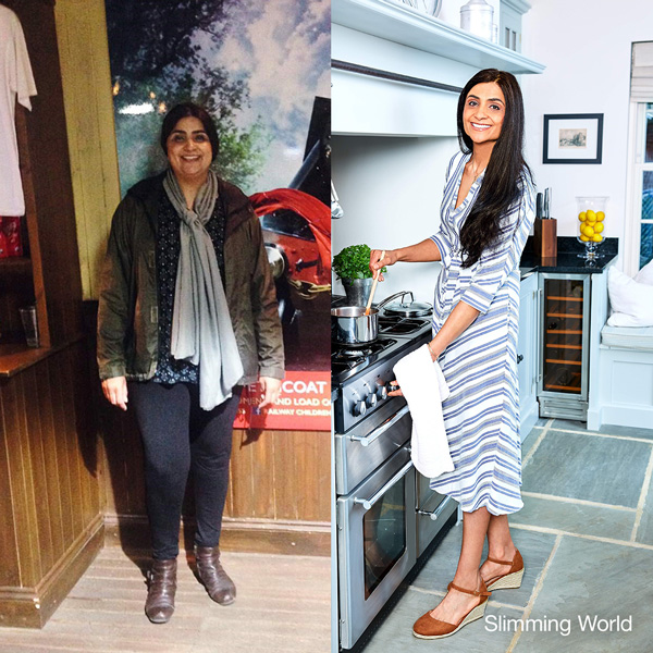 Kaly Flynn before and after - success story - PHE Campaign - Slimming World Blog