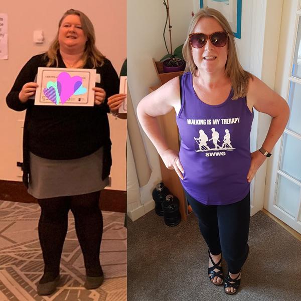 Kat Miller transformation-2020 Body Magic-slimming world blog