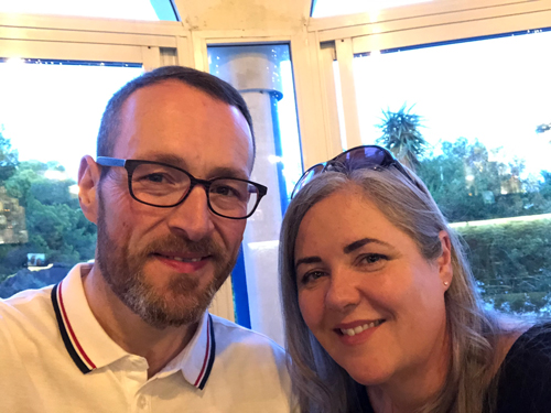 Phil Kayes and Nicole-The moments that helped me lose over 21st-Slimming World blog
