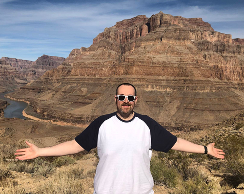 Phil Kayes Grand Canyon-The moments that helped me lose over 21st-Slimming World blog