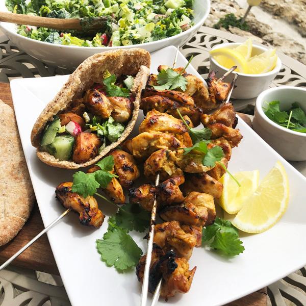 Sal's chicken tikka kebabs - Slimming World Blog