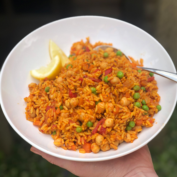 Sal's paella - Slimming World Blog