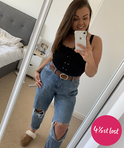 Erika Spiller 4.5st lost-my weight loss diary-slimming world blog
