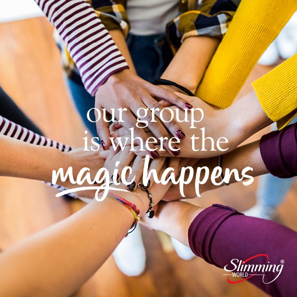Our group is where the magic happens - Slimming World Blog