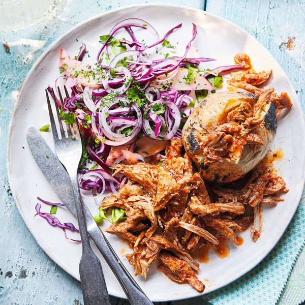 Texas barbecued pulled pork - Slimming World Blog