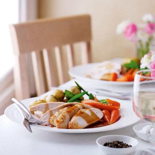 roast chicken dinner-healthy eating week-slimming world blog