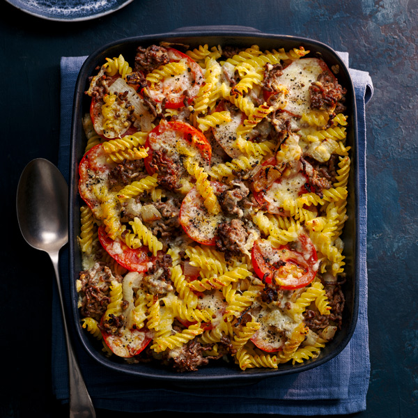 Cheeseburger pasta bake - Take 5 second helpings - Slimming World Blog